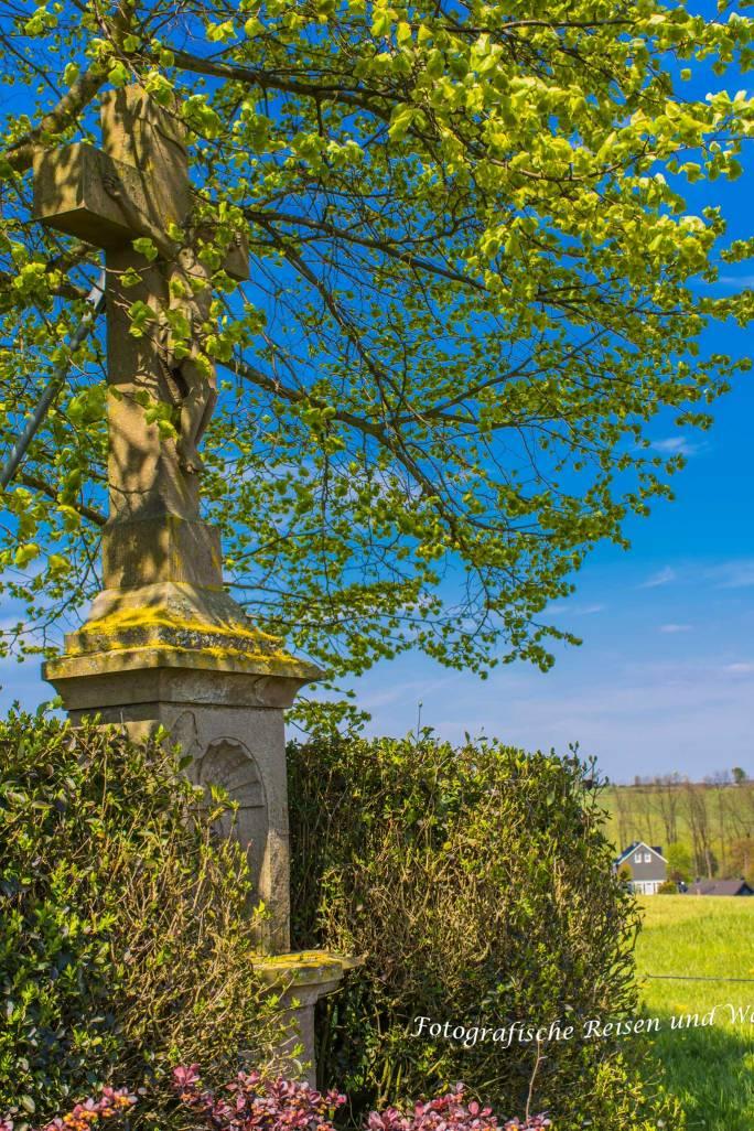Wegkreuz oberhalb Wipperfeld