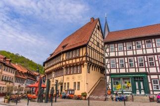 Rathaus mit Treppe