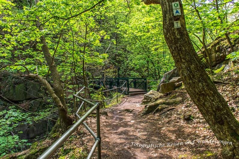 Weg zur Hexenbrücke
