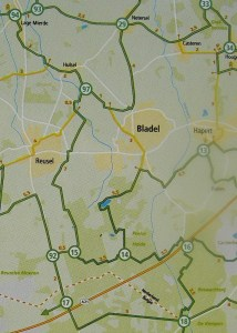 Knotenpunkte Belgien