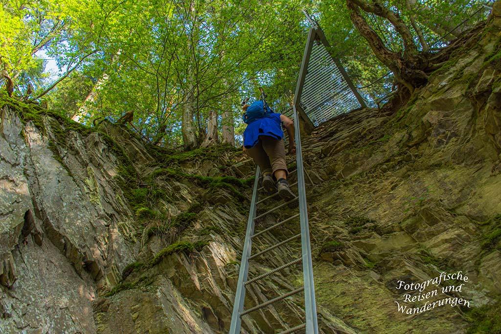 Klettersteig Pfalz : Mittelrhein klettersteig boppard