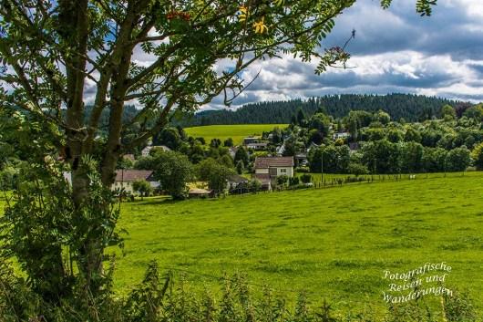 Blick auf Drieberhausen