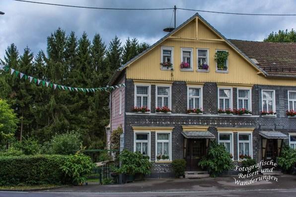 Herrliche Häuser in Lieberhausen