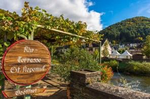 Weinterrasse Rech, direkt an der Ahr