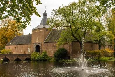 Springbrunnen Schloss Arcen