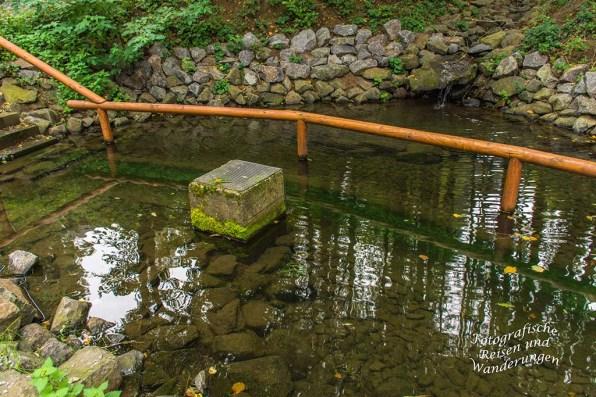 Das Wasser ist so klar (Wassertretbecken Kürrenberg)
