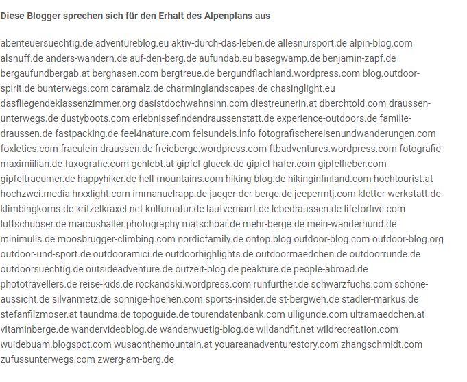 Bloggerbeteiligung
