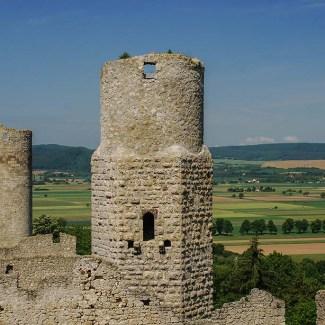 Burgruine Brandenburg - Rundblick und Turm