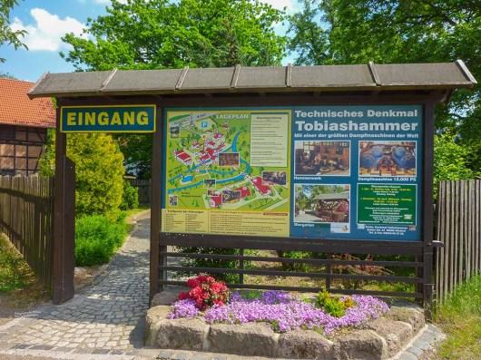 Eingang Technikmuseum Tobiashammer