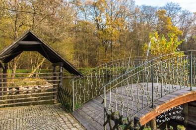 Romantische Brücke Holstein´s Muehle