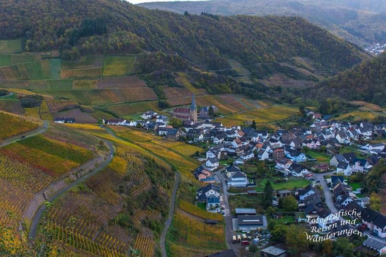 Weinberge oberhalb von Mayschoß