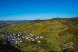Aussicht vom Pionierfelsen auf dem Moselseitensprung Garf Georg Johannes Weg