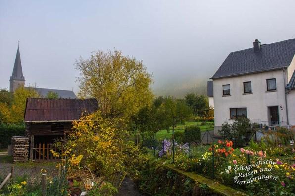 Veldenz im Herbst- Nebel