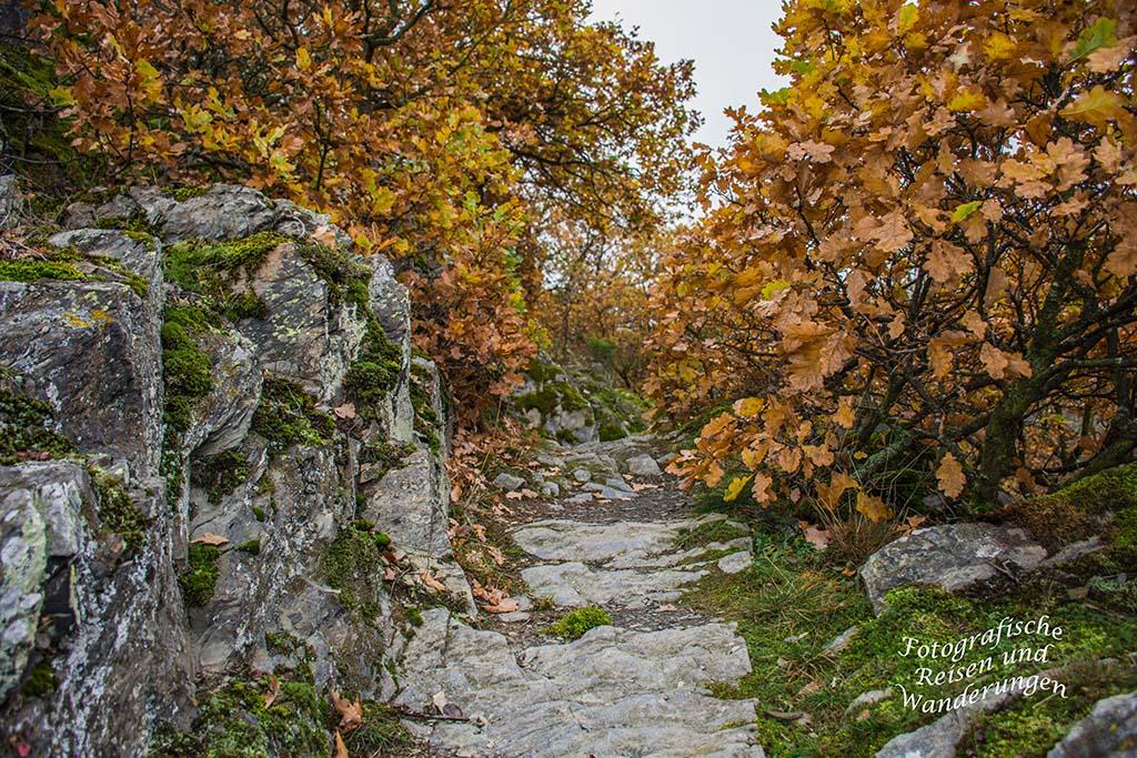 Wildromantische Felspfade - Nette Schieferpfad