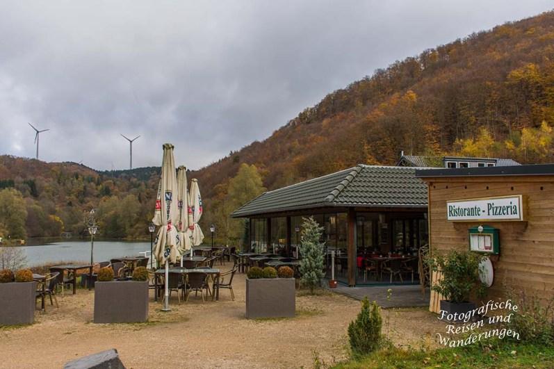 Auf dem Traumpfädchen Riedener Seeblick - Ristorante Pizzeria