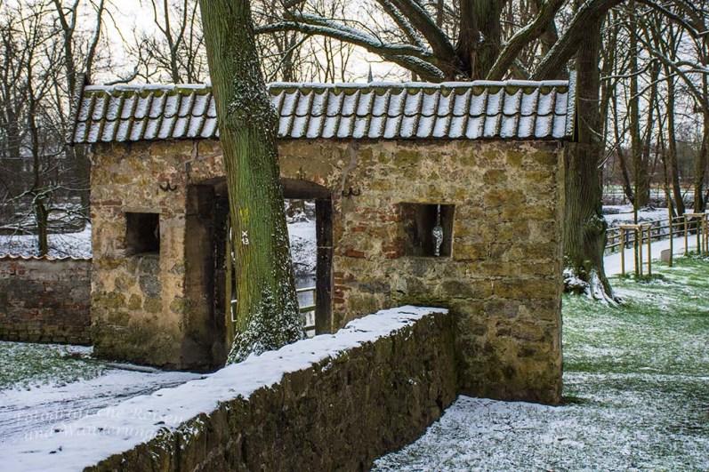 Burg Vischering- Außenanlagen