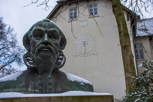 Gottfried von Raesfeld - Unter ihm wurde die Burg im 16. Jahrhundert zu einer Renessainceburg umgebaut