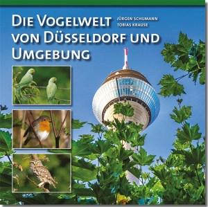 Buchcover Vogelwelt von Düsseldorf