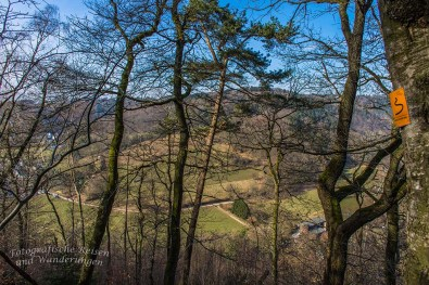 Blick ins Bergische Land und Solingen