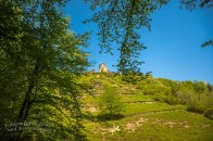 Immer wieder die Ruine der Winneburg betrachten