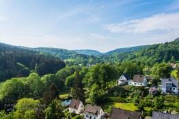 Herrlicher Blick in den Teutoburger Wald