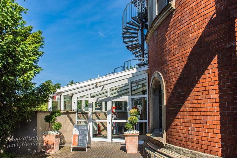 Eingangsbereich Museum zur Vorgeschichte des Films