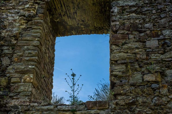 Virneburg Ruine Fenster