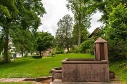 Auf dem Gelände der alten Kloster Ruine aus dem 13. Jahrhundert