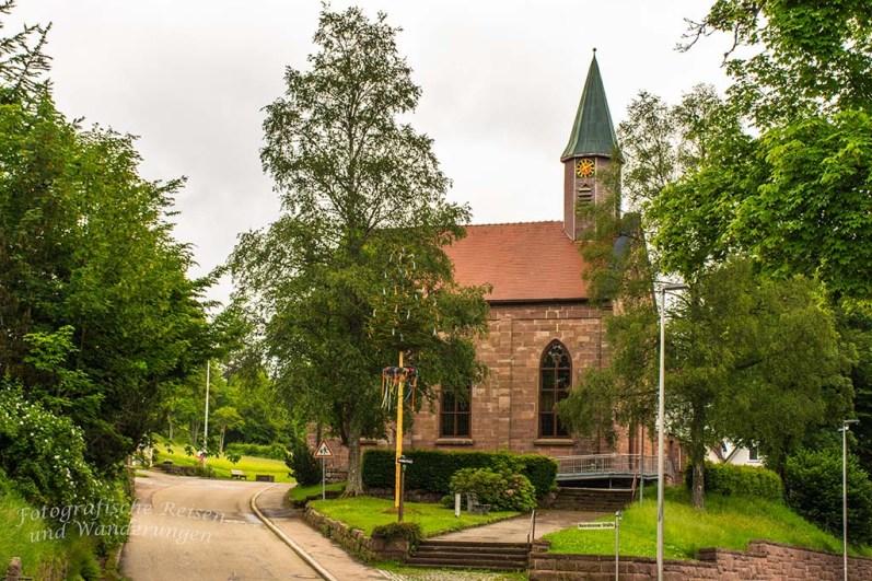 Kirche in Kniebis