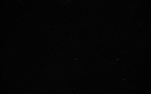 Sternenhimmel am Haus Raßberg