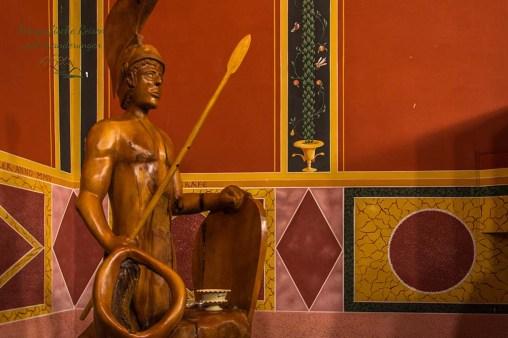 Statue des Mars-Der Tempel des Lenus-Mars