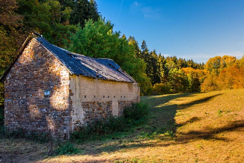 Die alte Dreisbachmühle - Über die Höhen der Ahreifel