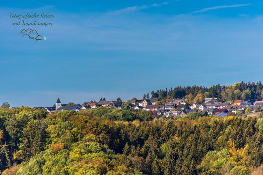Blick auf Wershofen