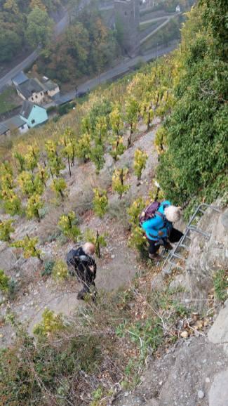 Elke und Gerhard am Berg