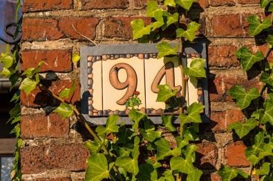 Kacheln als Hausnummer