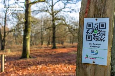 QR Code - Zum lernen über Hudewälder