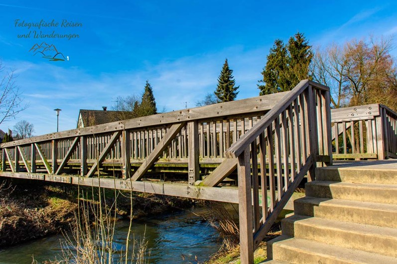 Brücke über die Sülz