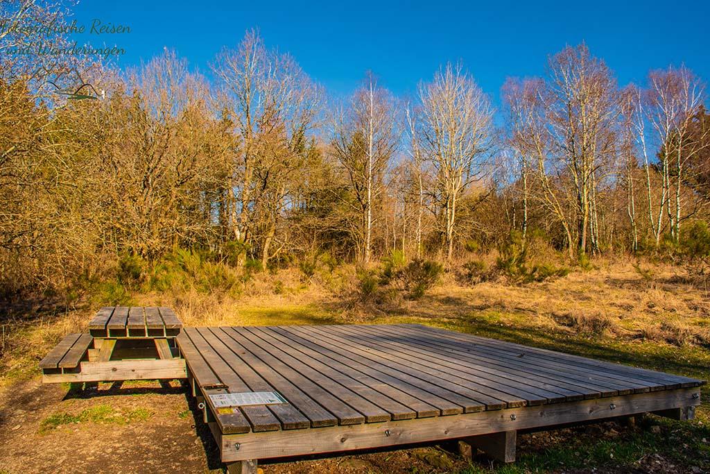 Trekkingplatz Nordstern - Vogelsang und Wollseifen - Kleine Runde in die Geschichte