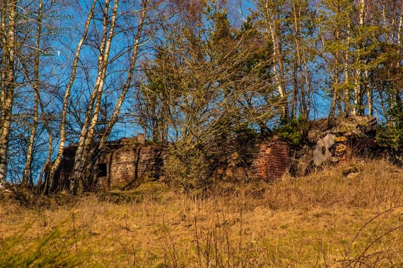 Ruine des Ortes Wollseifen