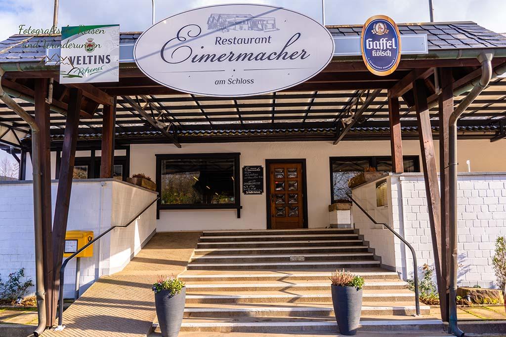 Eingang Restaurant Eimermacher Engelskirchen