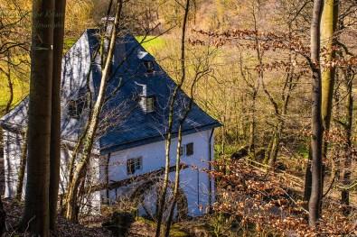 Hallentahler Mühle - Eifelschleife Fuchshöhle