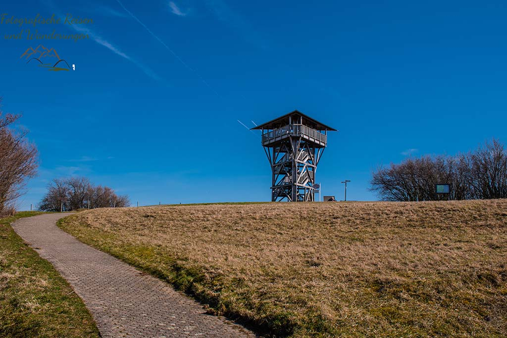Barrierefreier Weg zum Mühlenberg und Eifelblick - Eifelschleife Mühlenberg