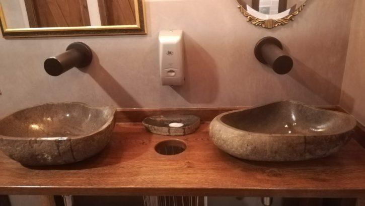 Extravagante Waschschüssel