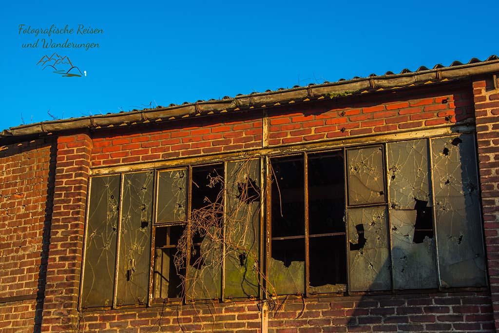 Gebäude an der Zeche Nachtigall