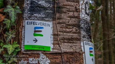 Wegezeichen Krönungsweg - Eifelverein