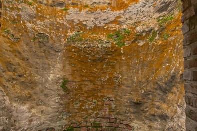 Der Innenraum des Kalkofens