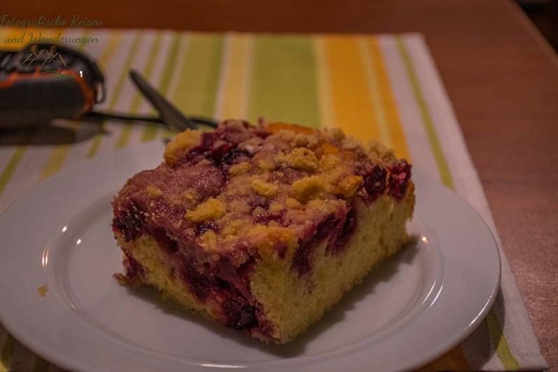 Kuchen im Cafe Krey - Wandern bei Blankenberg an der Sieg