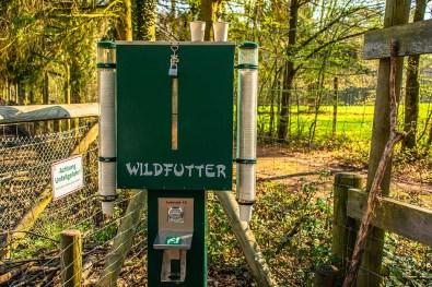 Wildfutterautomat