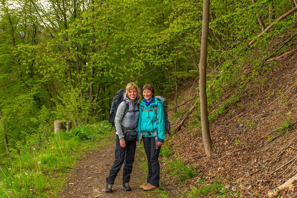 Thüringer Eifelsteigwanderinnen