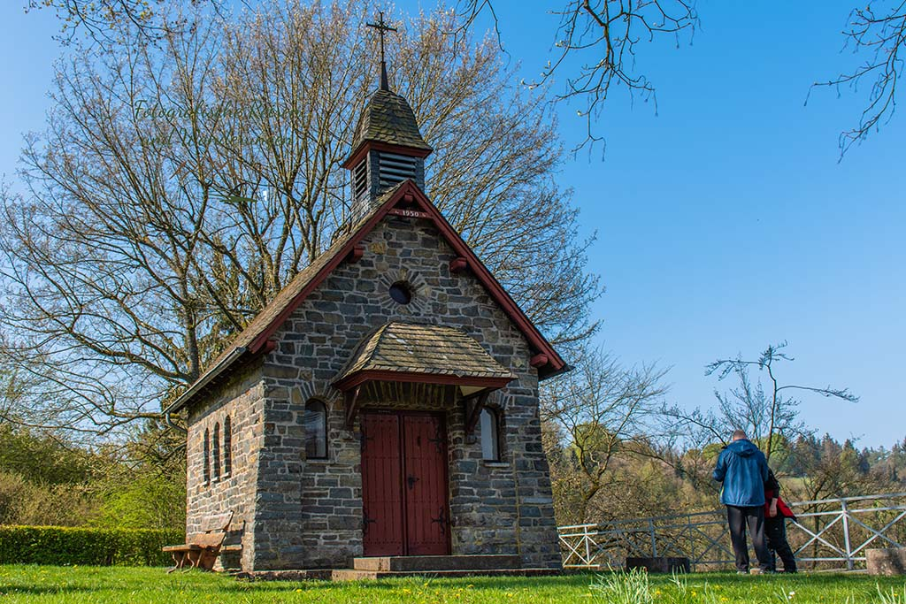 Kapelle an der Sonntagsley - Eifelsteig zwischen Monschau und Einruhr